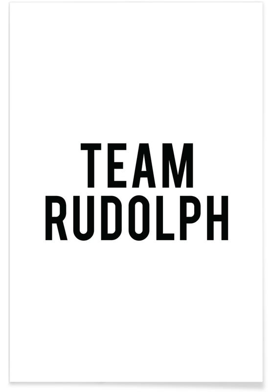 Team Rudolph poster