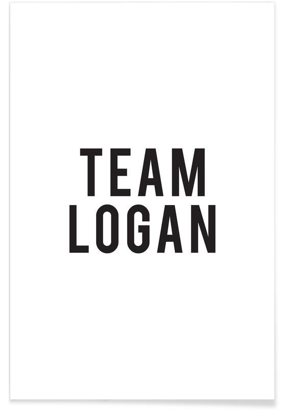 Sort & hvidt, TV show, Team Logan Plakat