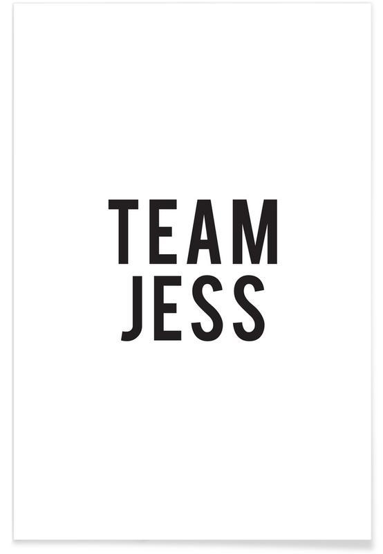 Blanco y negro, Series de TV, Team Jess póster