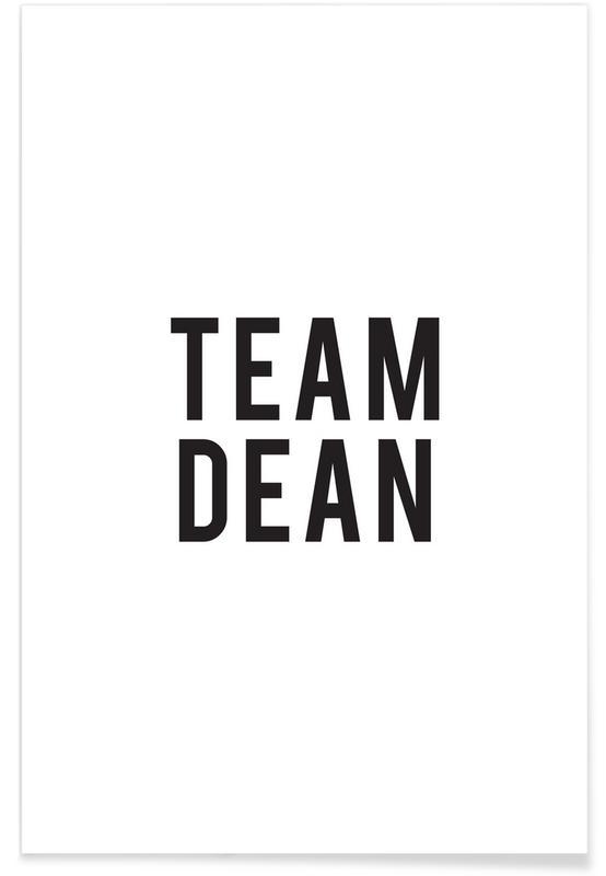 Blanco y negro, Series de TV, Team Dean póster