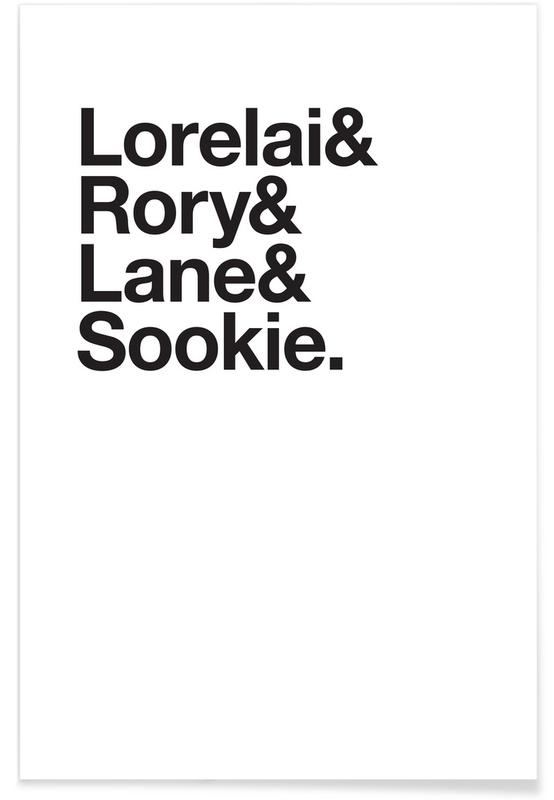 Sort & hvidt, TV show, Girls & Crew Plakat