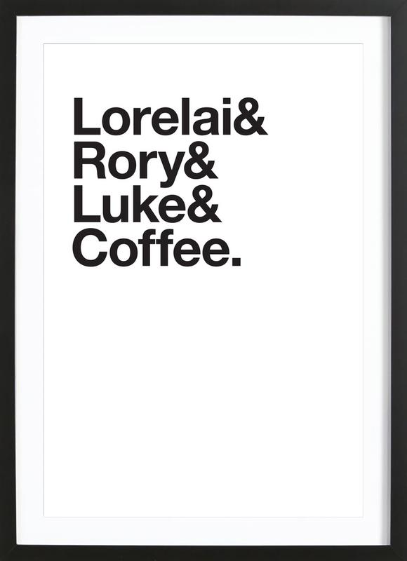 Luke's Poster i träram