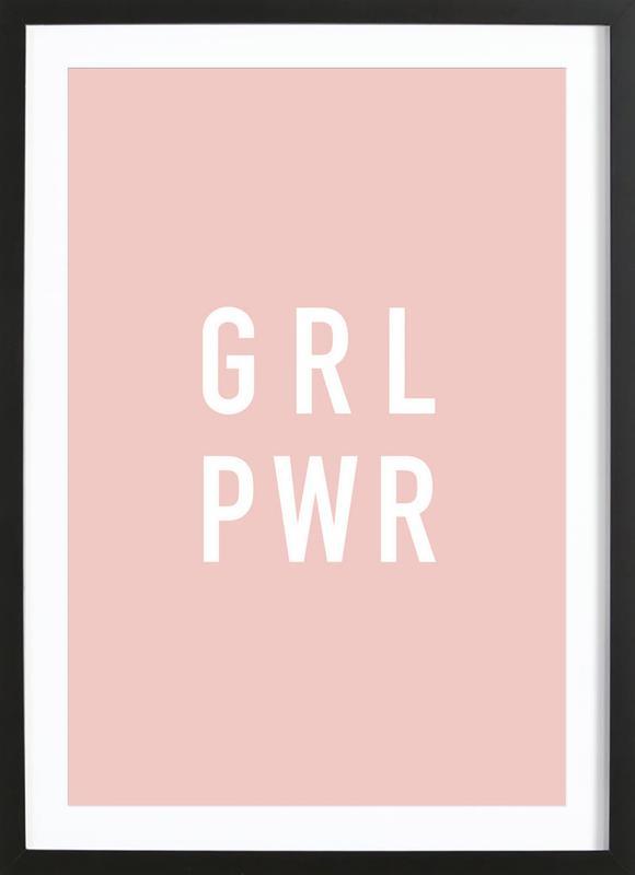 GRL Poster i träram