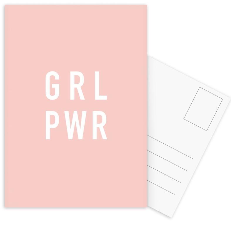 GRL -Postkartenset