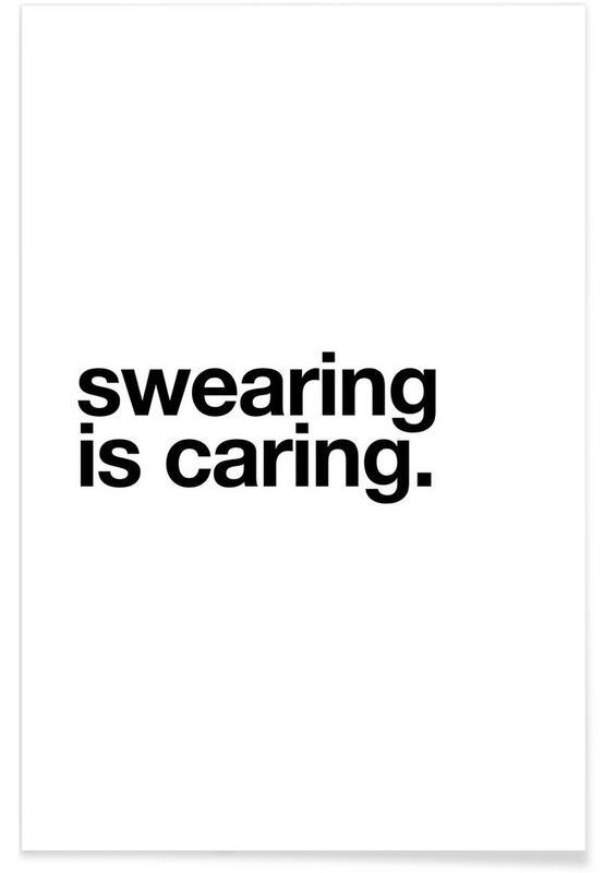 Blanco y negro, Divertidos, Citas y eslóganes, Manners póster