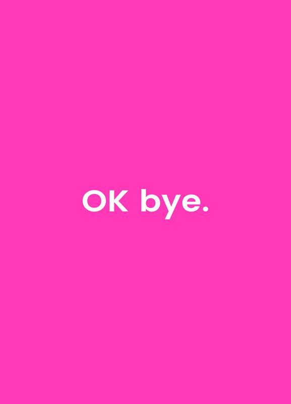 Bye canvas doek