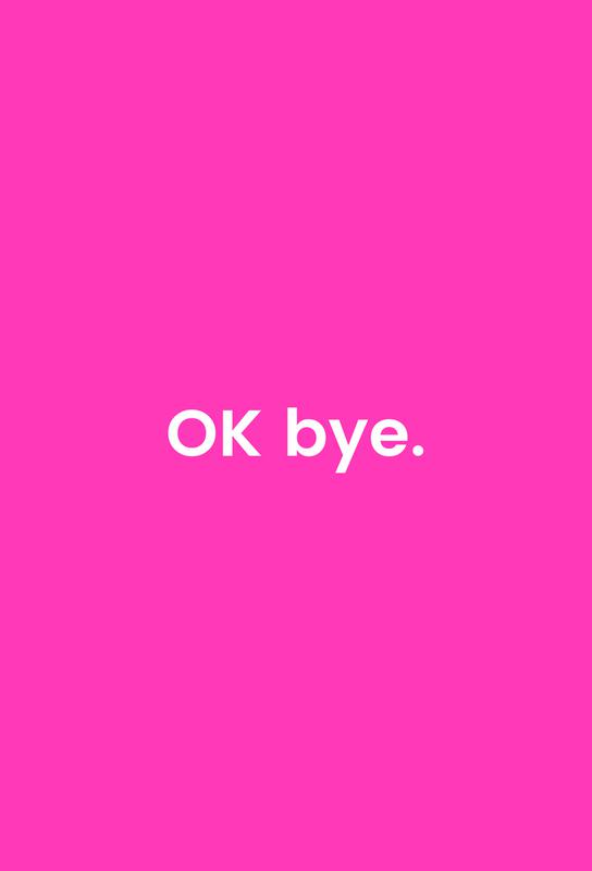 Bye Akrylglastavla