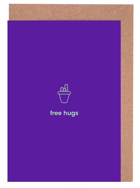 Geburtstage, Cactus Cuddles -Grußkarten-Set