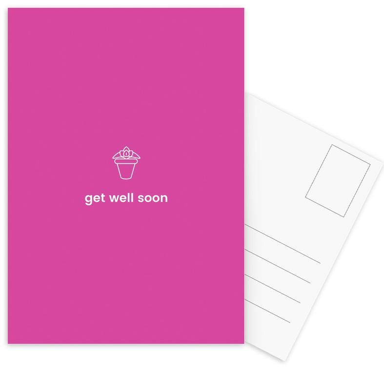 Feel Better -Postkartenset