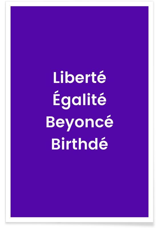 Birthdé Poster
