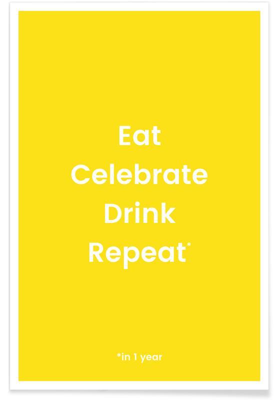 Fødselsdage, Celebration Rotation 2 Plakat