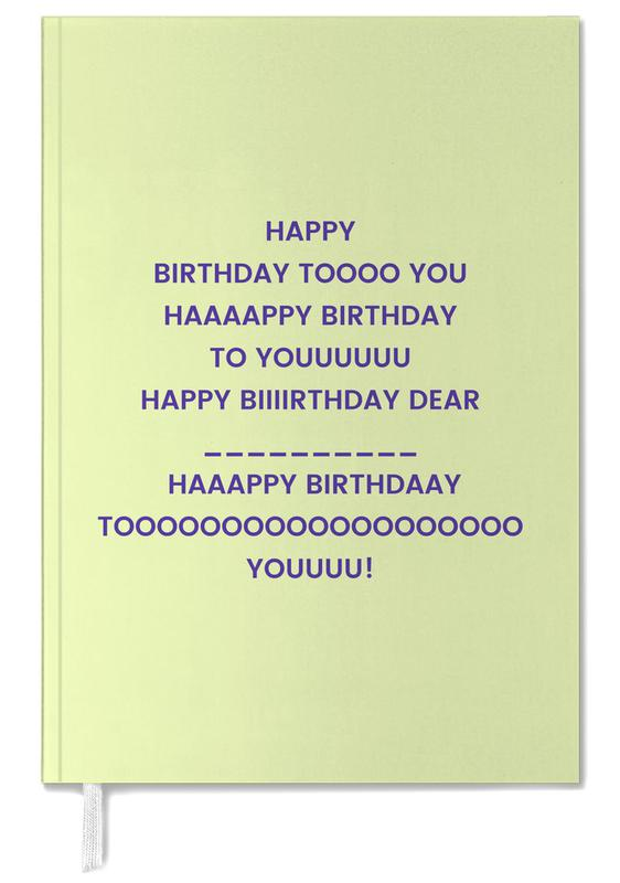 Happy Birthday to You Personal Planner