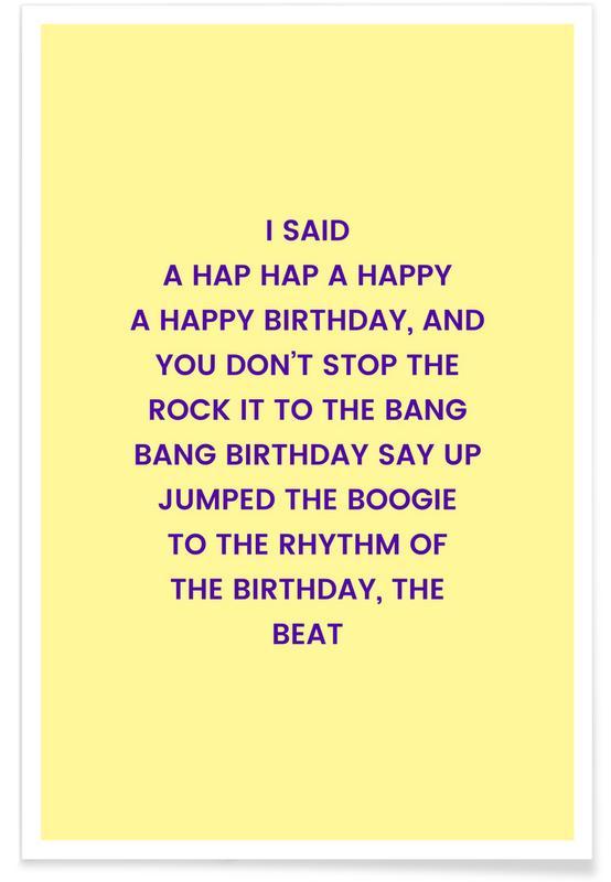 Fødselsdage, Birthday's Delight Plakat