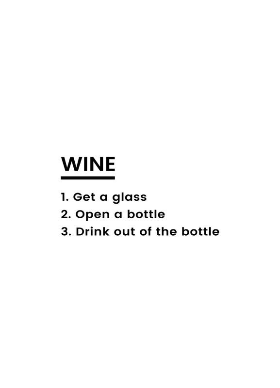 Wine Recipe Canvas Print
