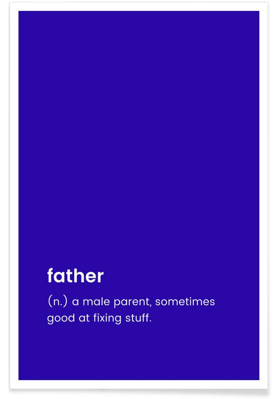 For Dad Poster