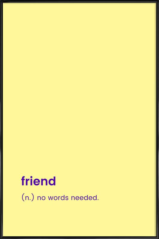 For BFFs Poster i standardram