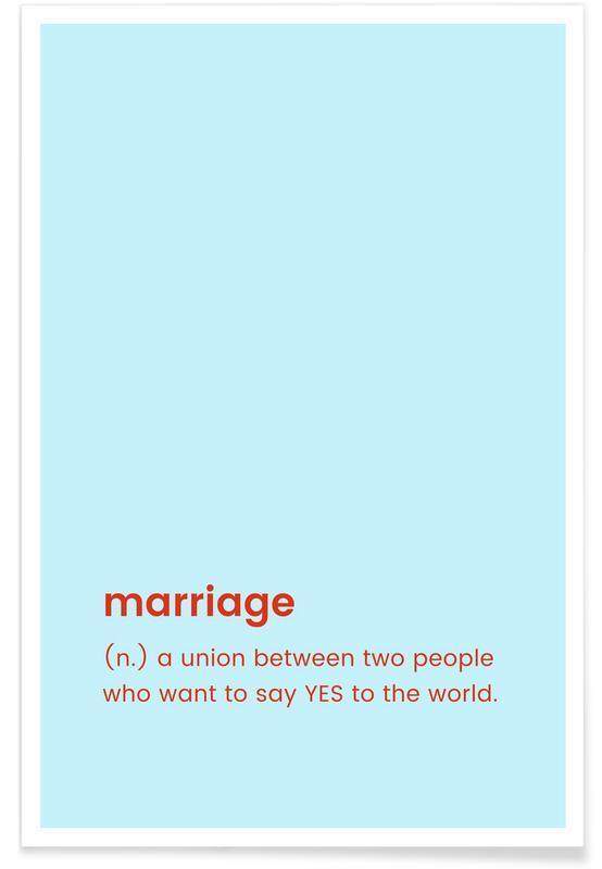 Bryllupper, For Newlyweds Plakat