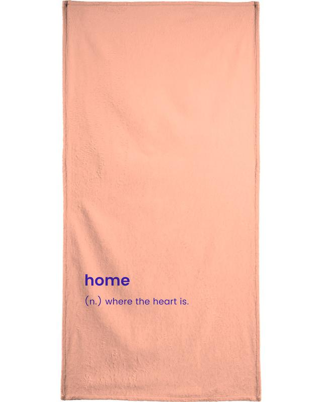 For the New Home Bath Towel
