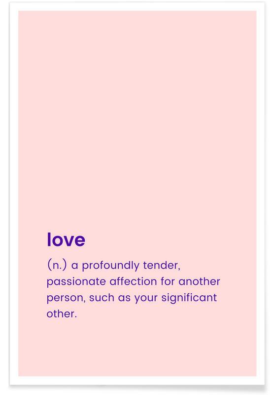 Årsdag & kærlighed, Valentinsdag, For Your Partner Plakat