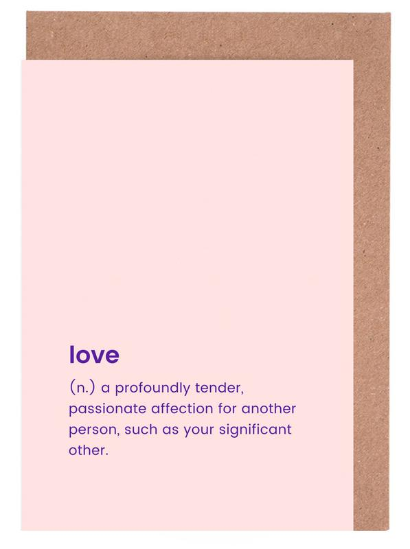 For Your Partner Greeting Card Set