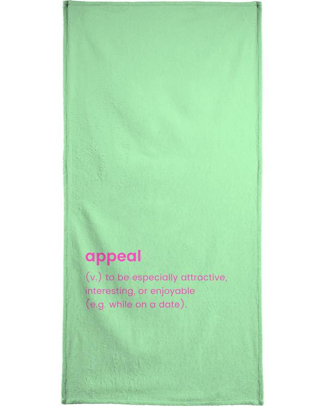 Valentinstag, Hochzeiten, Appeal -Handtuch