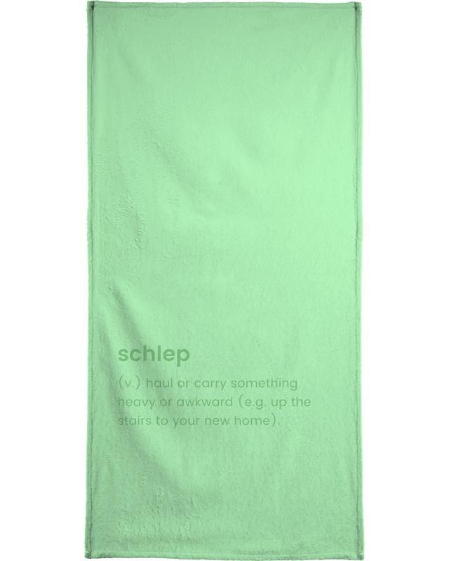 Umzug, Schlep -Handtuch