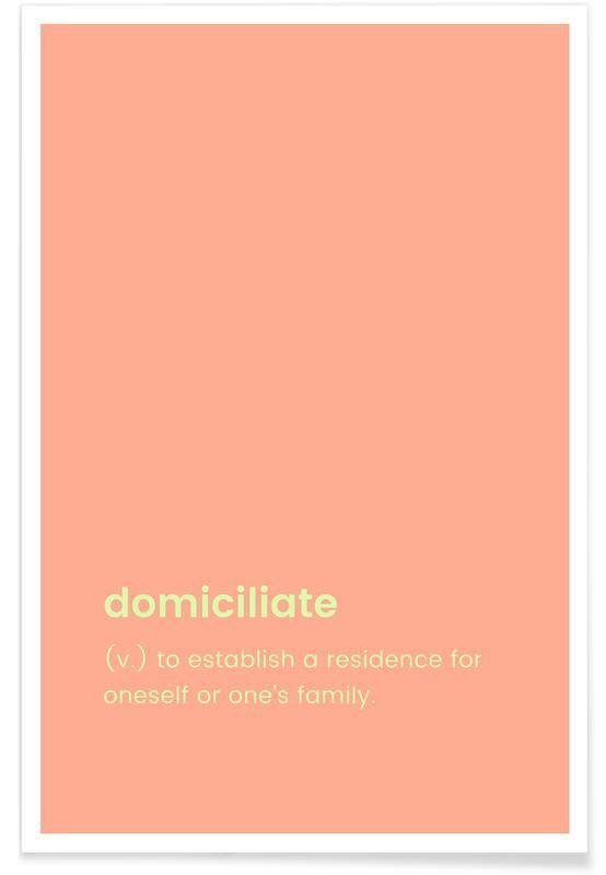 Indflytningsfest, Domiciliate Plakat