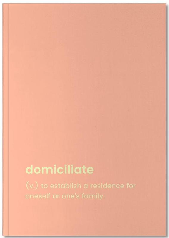 Crémaillères, Domiciliate Notebook