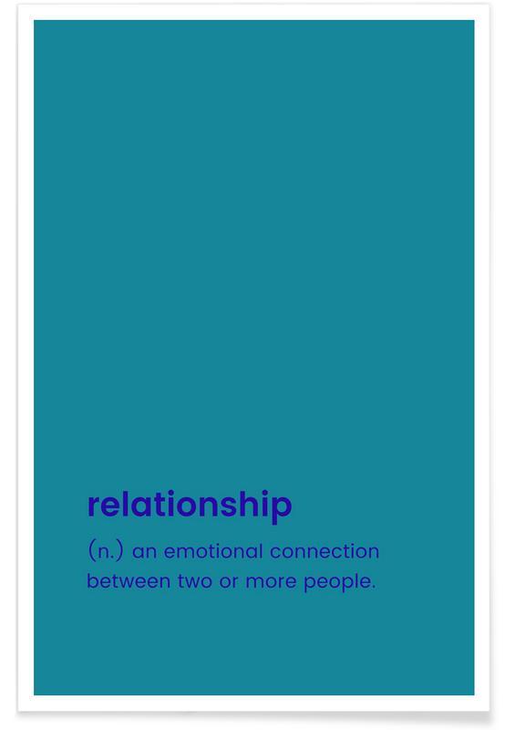 Årsdag & kærlighed, Valentinsdag, Relationship Plakat