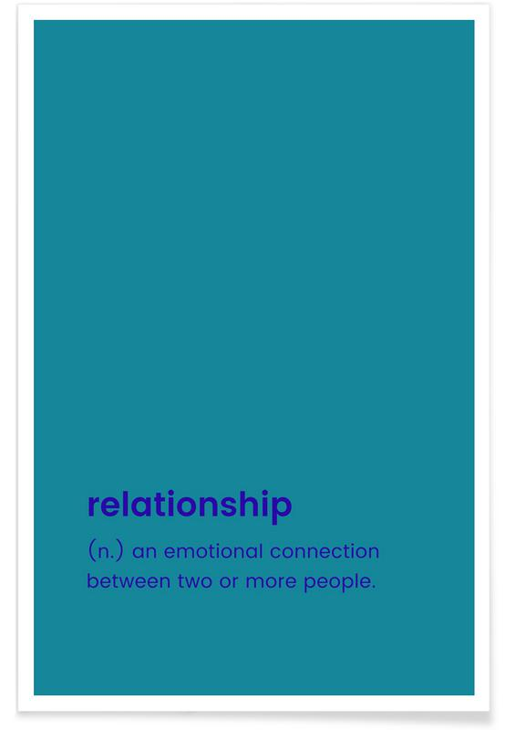 Relationship poster