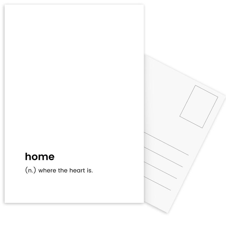 Home Postcard Set