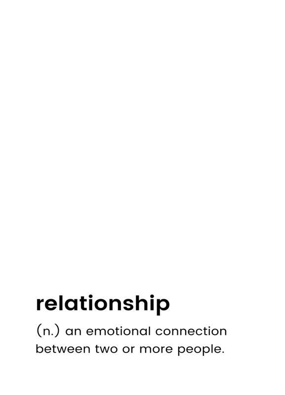 Relationship 2 Canvastavla