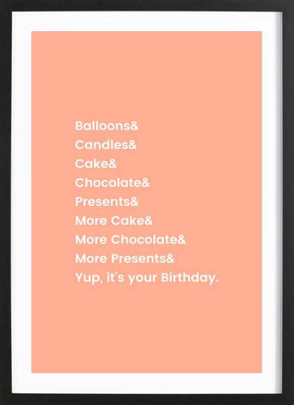 It's Your Birthday Framed Print