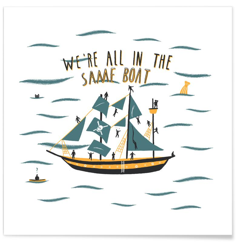 Boten, All in the Same Boat poster