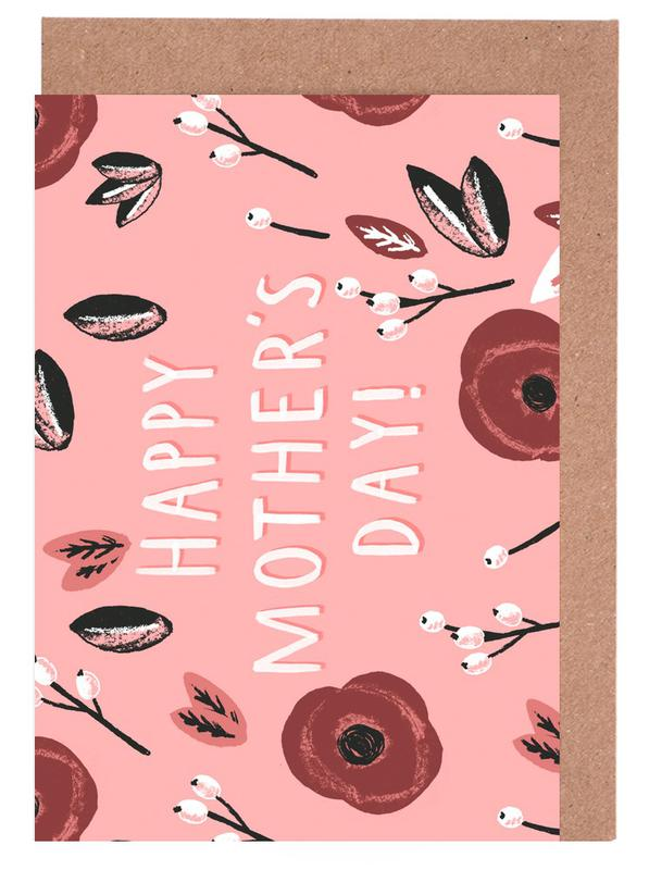 Happy Mother's Day Greeting Card Set