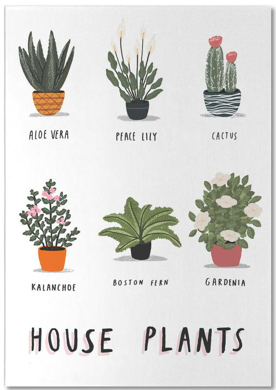 House Plants Notepad
