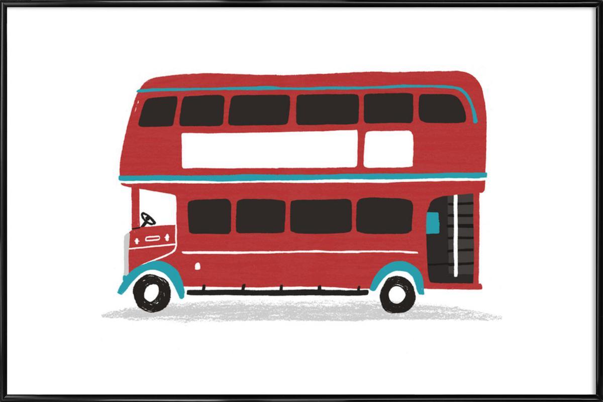 London Bus Framed Poster