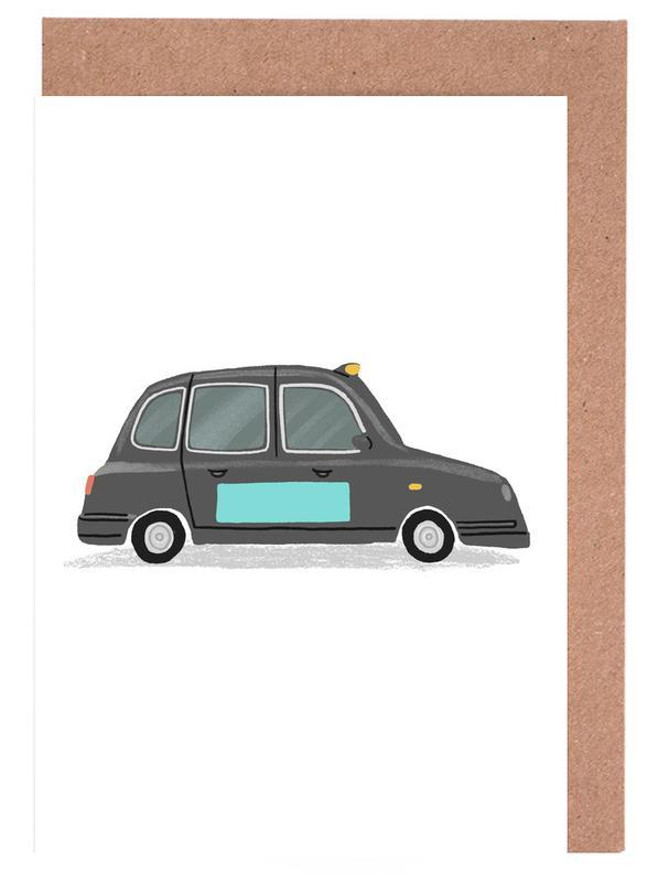 London Taxi Greeting Card Set