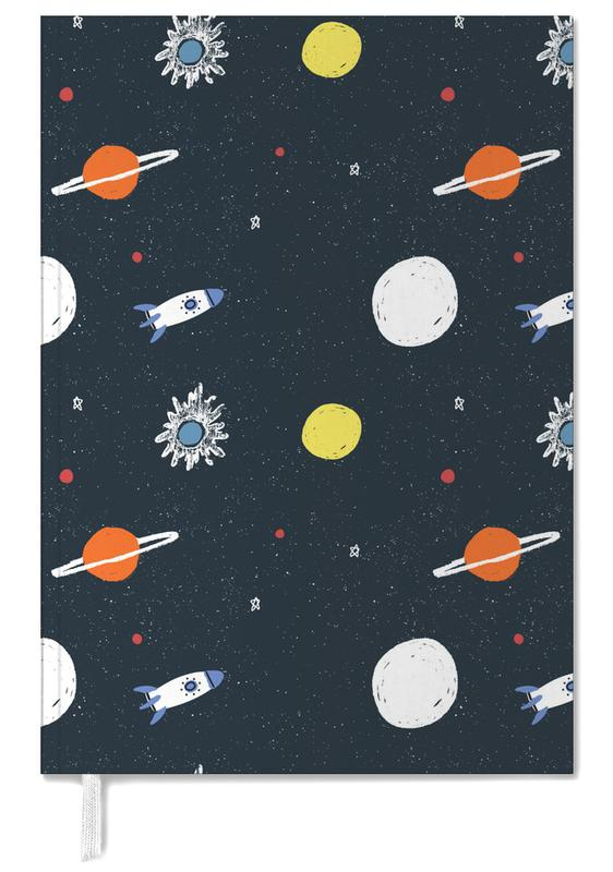 Planets Pattern Personal Planner