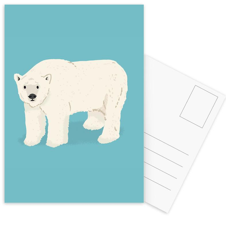 Beren, Kunst voor kinderen, Polar Bear ansichtkaartenset