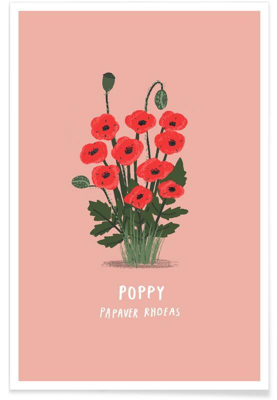 Klaprozen, Poppy poster