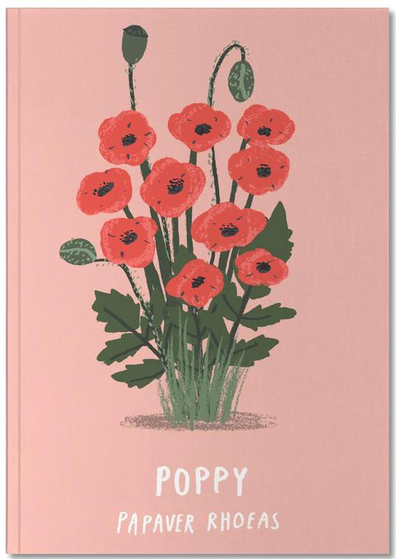 Coquelicots, Poppy Notebook