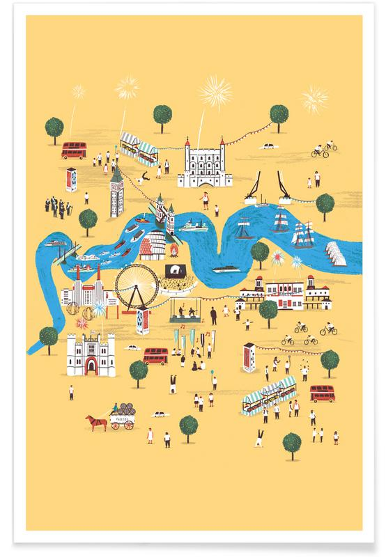 Totally Thames Poster