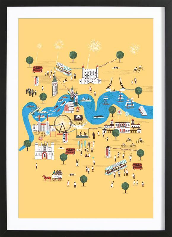 Totally Thames Framed Print