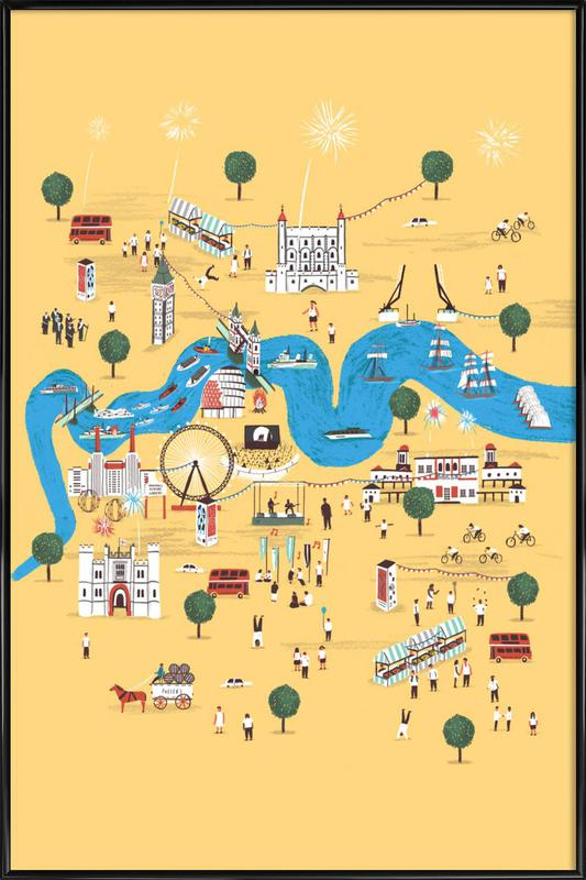 Totally Thames Framed Poster