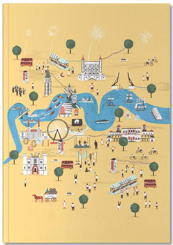 Stadskaarten, Londen, Totally Thames Notebook