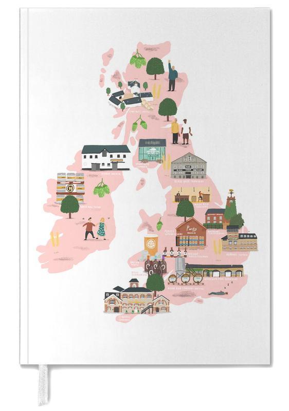 UK & Ireland Beer Map Personal Planner
