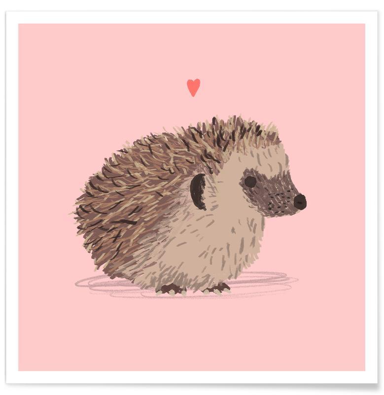 Hedgehog -Poster