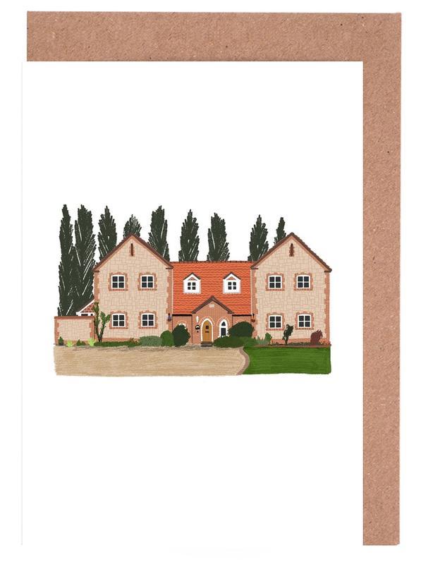 Crémaillères, House 1 cartes de vœux