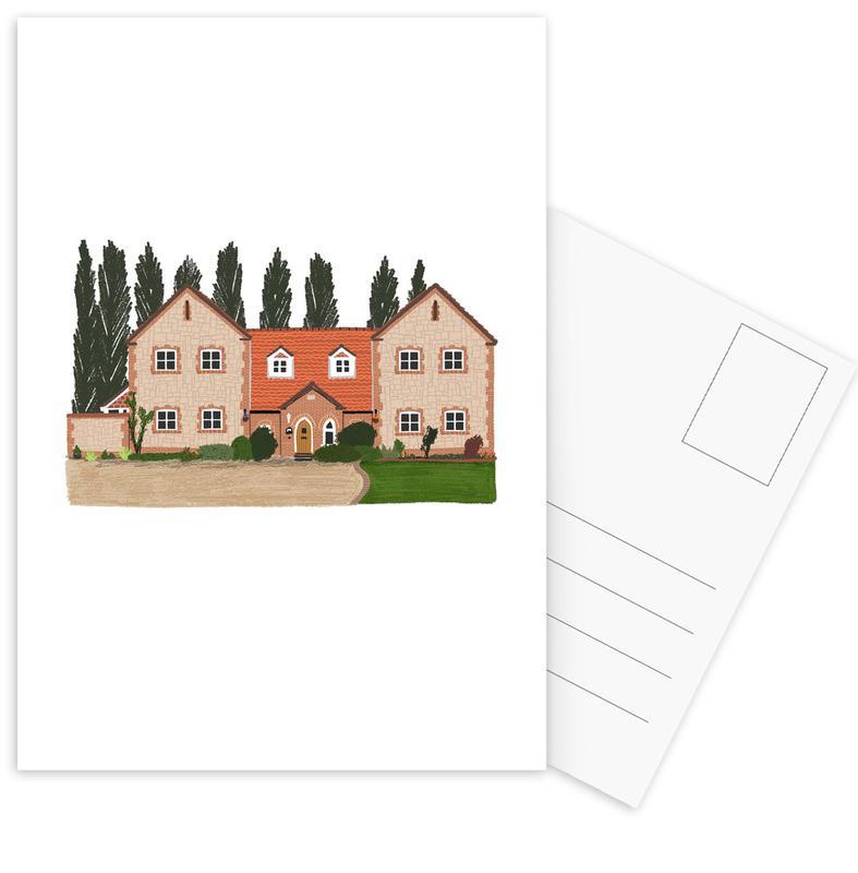 Housewarmings, House 1 ansichtkaartenset